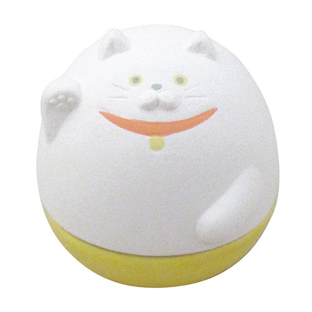 DECOLE|日本開運不倒翁陶偶薰香石-招財貓DECOLE是日本知名的生活雜貨品牌,擅長應用療癒的人物以及動物圖案於各種便利日常使用的原創設計小物,十分受到歡迎!隨著季節變換推出的特色商品,每一個都充