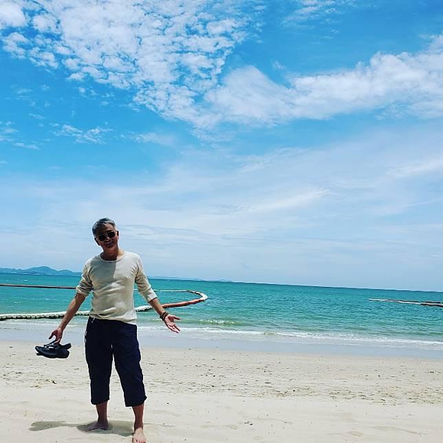 享受陽光與海灘!