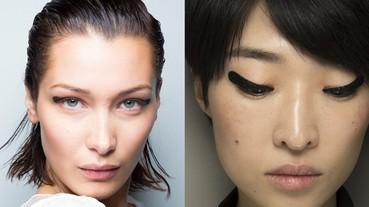 #NYFW: 還在為如何畫出完美貓眼線而煩惱?不如看看兩個品牌也紛紛展示的最新眼線潮流吧!
