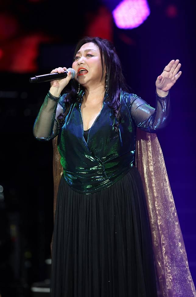 鄭怡出道40年,今晚首度舉辦個人大型售票演唱會。記者許正宏/攝影