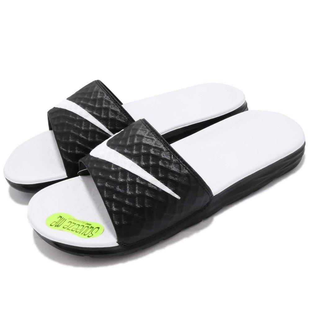 運動拖鞋品牌:NIKE型號:705475-010品名:Benassi產地:Vietnam配色:白色,黑色