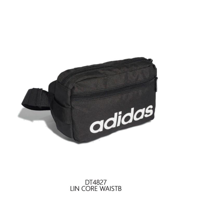 Adidas LIN CORE WAISTB 愛迪達logo 中性 腰包 DT4827