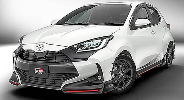 Toyota Yaris terbaru dengan aksesori dari TRD
