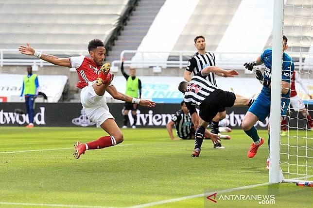 Arsenal kembali ke jalur kemenangan saat bungkam Newcastle