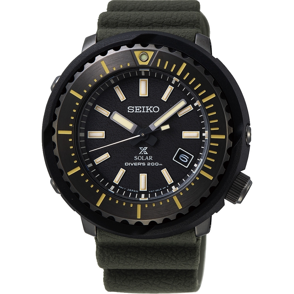 原廠公司貨 SNE543P1街頭最酷風格小鮪魚潛水錶太陽能機芯,200米防水料號:V157-0DD0SD