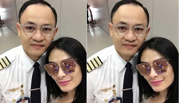Suami Jadi Pilot Pesawat Garuda Angkut Harley, Iis Dahlia: Capcay Eike Tuh!