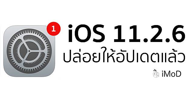 Ios 11.2.6 Released Cover