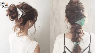 夾一夾!令你秒變「氣質女孩」〜在日本長期大人氣的三角髮夾,能變出多種造型!