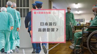 日本邁入高齡化社會後,開始出現老人故意犯罪的問題?
