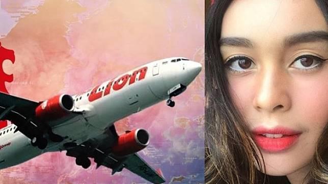 Cerita Seram Presenter TransTV Conchita Caroline Naik Lion Air JT610 Malam Hari Sebelum Kecelakaan