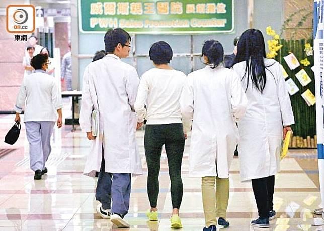 醫委會早前通過海外醫生豁免實習方案。