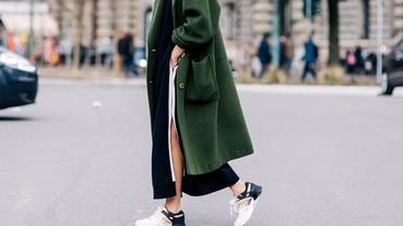 跟著街拍潮人的步伐,以平底鞋穿出時尚感覺!