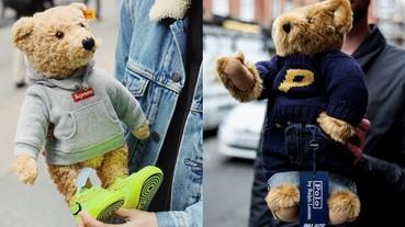 天價 Steiff 泰迪熊魅力無法擋!連 Supreme、PALACE 等街牌龍頭都爭相和它聯名!