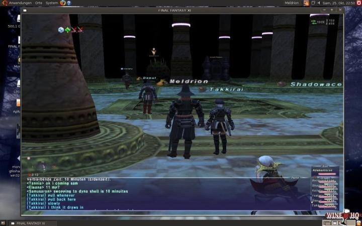 根據官方網站的資料庫的最新測試報告,Final Fantasy XI Online屬於「具有不影響正常使用的小問題」的銀級清單。(圖片來源:WineHQ,下同)