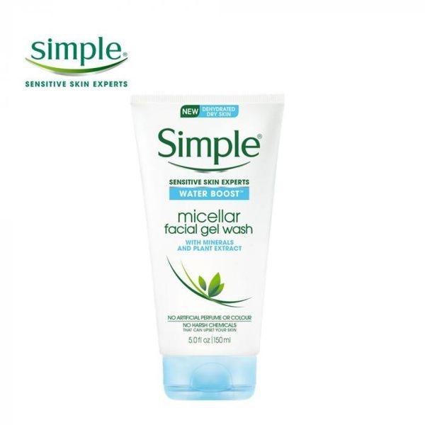 Simple 清妍 極致補水深層潔顏凝露150ml ◆86小舖 ◆