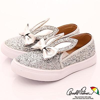 嚴選之精緻頂級童鞋百貨專櫃款低調簡約設計,質感加倍鞋內皮質質感,舒適不磨腳閃亮亮兔耳朵造型
