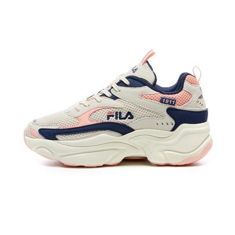 FILA SCORPION 慢跑鞋-藍/粉 5-J313V-113