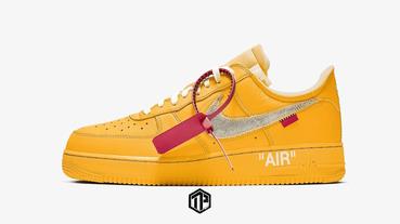 Off-White x Nike Air Force 1 聯乘鞋款或將於明年迎來全新配色