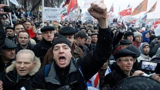 ชาวรัสเซียประท้วงเรียกร้องการเลือกตั้งท้องถิ่นที่เป็นธรรม