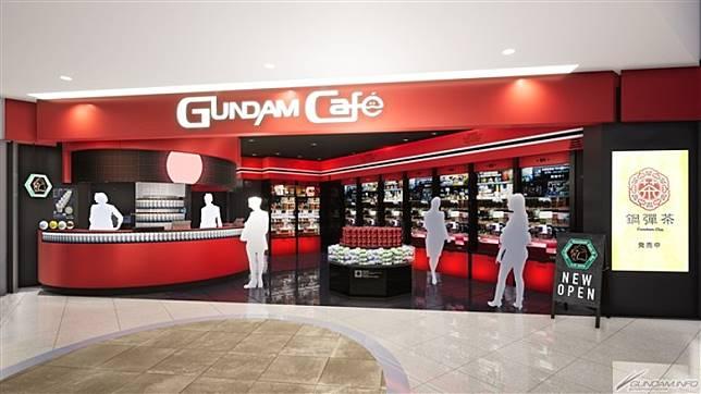 於本月30日,GUNDAM Café 終於正式登陸九州,於福岡首開店。(互聯網)