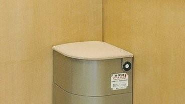 【貼心設計】被困電梯人有三急? 日本設「緊急馬桶」可於電梯內解決