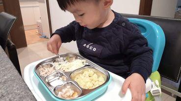 【兒童餐具推薦】美國Kangovou小袋鼠不鏽鋼安全兒童餐具組