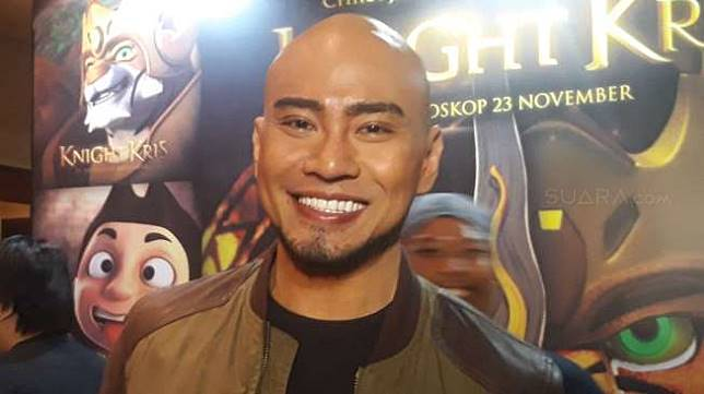 Deddy Corbuzier di acara jumpa pers Knight Kris di XXI Epicentrum, Kuningan, Jakarta Selatan, Rabu (15/11/2017). [suara.com/Puput Pandansari]