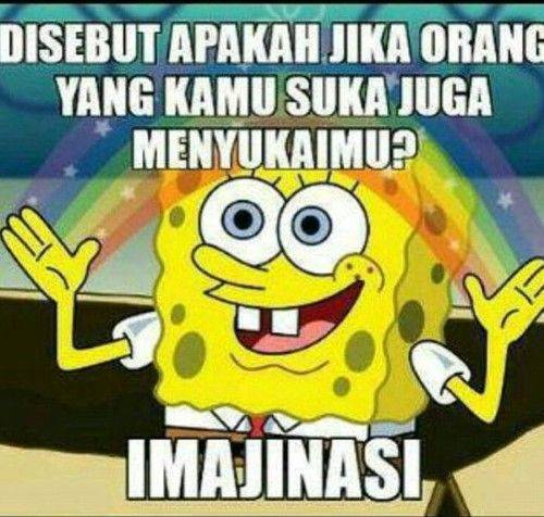 54 Gambar Lucu Spongebob Terlihat Keren