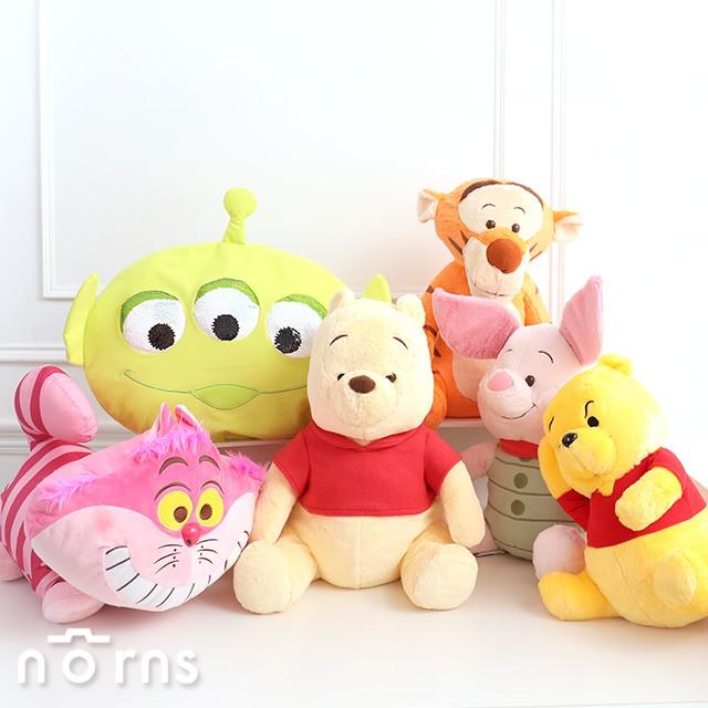 【日貨迪士尼SEGA娃娃】Norns 日本正版 景品 絨毛玩偶 抱枕靠墊 三眼怪 小熊維尼 跳跳虎小豬 米奇妙妙貓 玩具