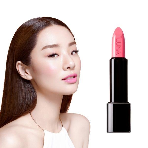【韓國LUNA】持久保濕亮彩唇膏3.5g #11暖粉