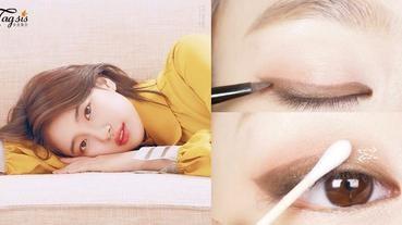 以後眼妝也不會跑掉!6步畫出「單眼皮日常眼妝」,要維持一整天其實也不難!