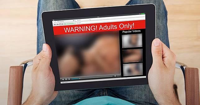 Ilustrasi konten pornografi