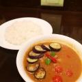 なすトマトチキン - 実際訪問したユーザーが直接撮影して投稿した新宿カレーcurry(カレー)草枕の写真のメニュー情報