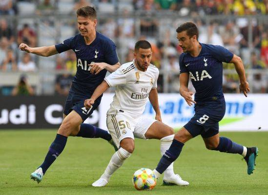 Gol Tunggal Kane Antar Spurs Kalahkan Real Madrid