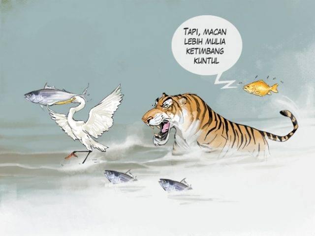 Banjir Kuntul dan Banjir Macan