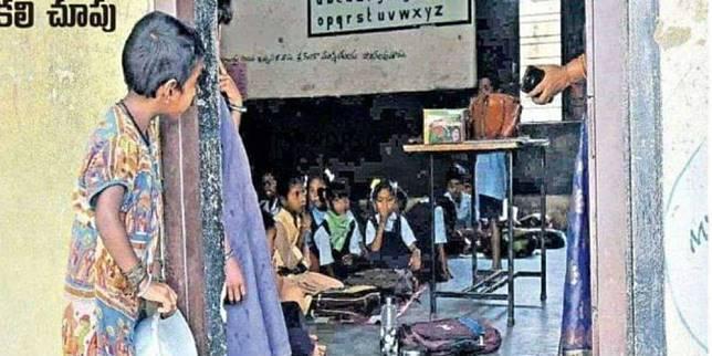 Foto ini sempat menghebohkan media sosial di India (Foto: BBC)