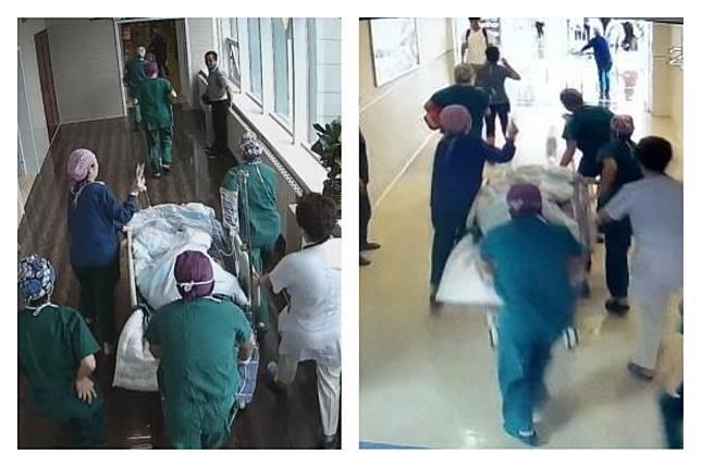 ▲中國大陸內蒙古自治區一名醫師在進行手術時,突然發生心肌梗塞(合成圖/翻攝自中國新聞網)