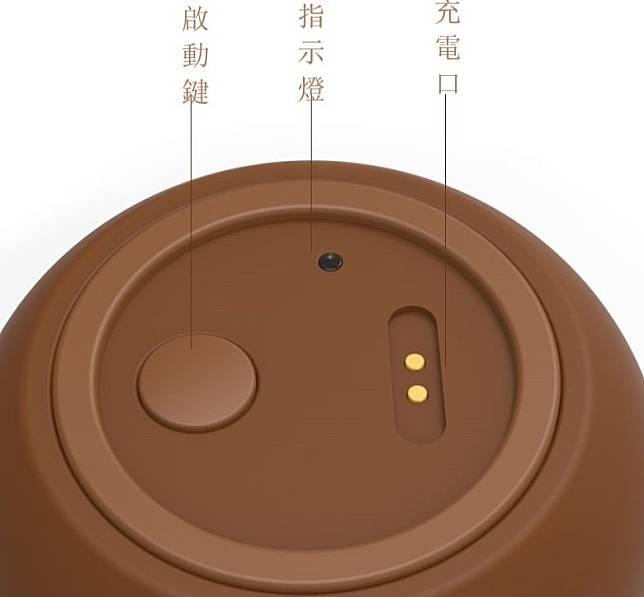 多功能咖啡豆豆果汁杯操作容易,磁鐵充電口充電更安全。(互聯網)