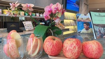 「台中水果禮盒推薦」萬泰水果國外進口直送到府,新鮮完整智利袋裝蘋果水果開箱分享