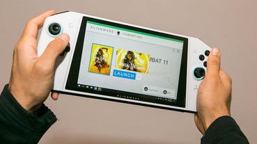 Alienware推出 Concept UFO:一款明顯「致敬」Switch的掌機,卻是貨真價實的 Windows 10 PC