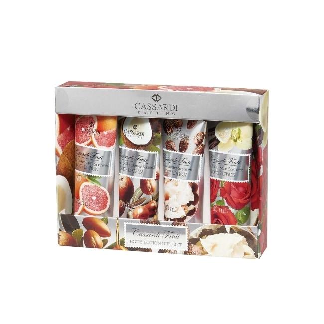 熱帶水果身體潤膚禮盒組
