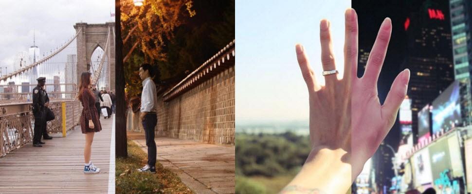 遠距離如何放閃?讓這對韓國情侶告訴你!
