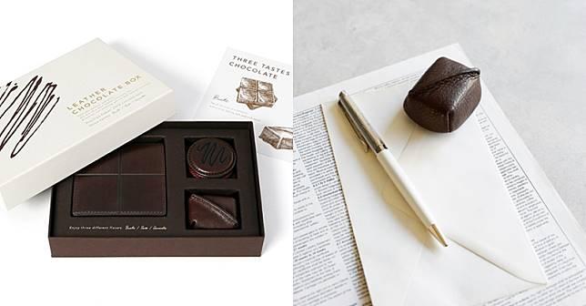 53bca657c2d6 情人節不送巧克力!土屋鞄製造所用可可色皮革設計文具套組送出你的大人味