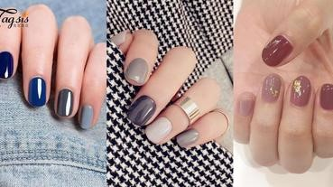十隻指甲塗淨色甲油太無趣!大熱同色系指甲油,更顯仙女氣質哦~
