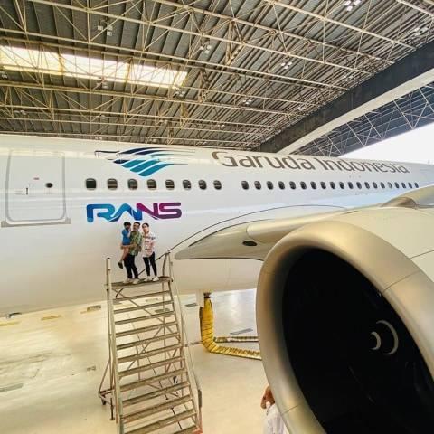 Logo RANS Terpampang di Badan Pesawat Jadi Trending di Twitter