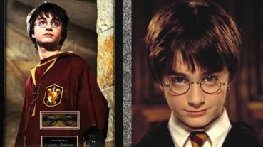 麻瓜們還不快搶?哈利波特原版圓框眼鏡「真實世界」開放競標,竟還附上 Daniel Radcliffe 親筆簽名⋯