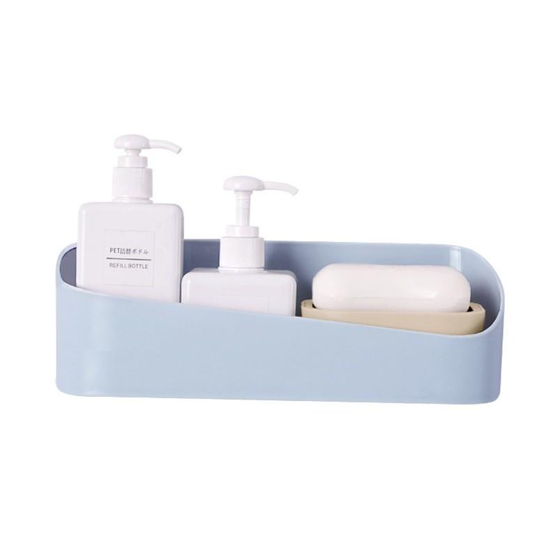 【SG149】原創幾何置物架 浴室置物架 衛生間強力粘貼置物架 塑料壁掛收納架浴室牆上化妝盒材質:(塑料) 規格:約( 20.5*10.7) 產品重量:210.5g我們一直想用最大的努力為您呈現我們最