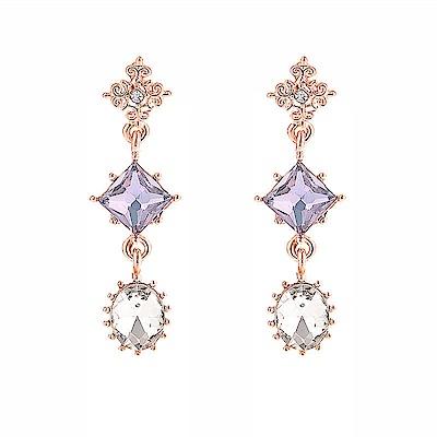 梨花HaNA 韓國她的私生活淡紫珠寶鑽石耳環