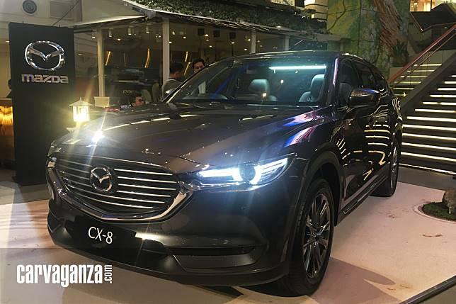 GALERI FOTO: Detail Kemewahan All-New Mazda CX-8 Versi Indonesia