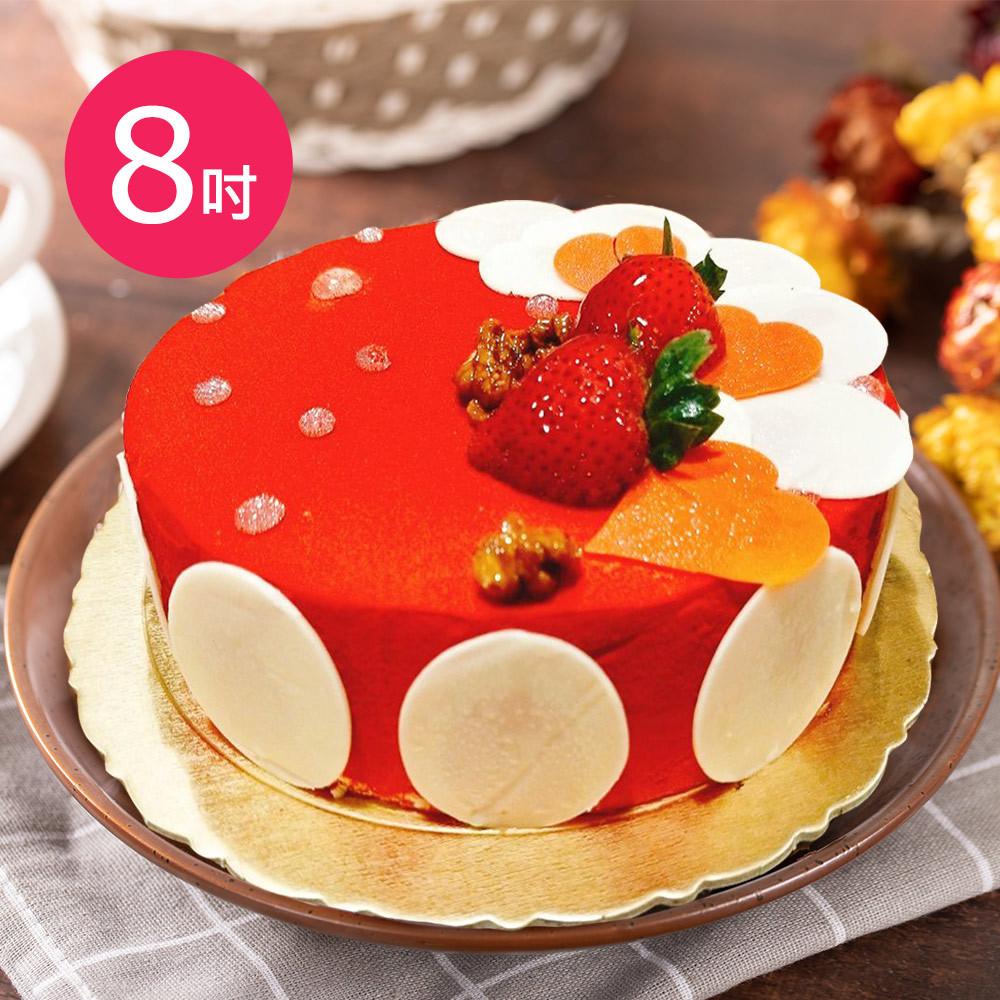 樂活e棧-生日快樂蛋糕-愛上維納斯蛋糕(8吋/顆)